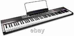 ROCKJAM Full Size 88 Key Note Electric Piano Keyboard With Speakers NEW / Boxed