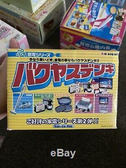 Re-Ment Electric Appliance Full Set Of 10 Pieces. New And Sealed. Ultra Rare