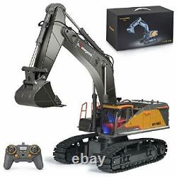 Remote Control Excavator Toy 1/14 Scale RC Excavator 22 Channel Upgrade Full Fun