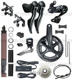 Shimano Ultegra R8050 DI2 Electric GroupSet Full Set Crank 175 with EW RS910 New