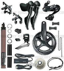 Shimano Ultegra R8050 DI2 Electric GroupSet Full Set with EW RS910 New