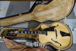 Stsuji Custom New Yorker Full Acoustic Di Angelico 6-String Electric Guitar+HC
