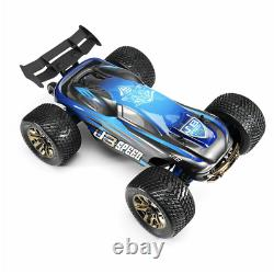 Super FAST 1/10 4WD 60mph Brushless Rc Car Full Scale Electric Truggy RTR Toy