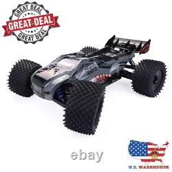Super FAST 1/8 4WD 50mph Brushless Rc Car Full Scale Electric Truggy RTR Toy
