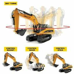 Top Race, 23 Channel Full Functional RC Excavator Construction TractorTR-211M V4