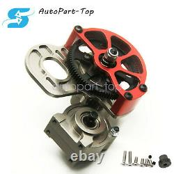Transmission Gearbox Case Full Metal Assembled with Gear For Axial SCX10 110 RC