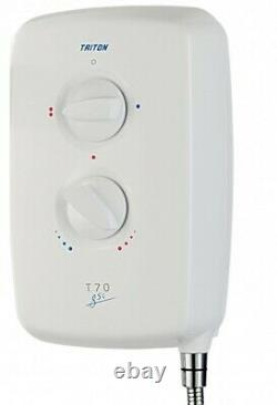 Triton T70gsi Easy Fit 8.5Kw White Electric Shower -RP T80 GSI Enthral Excite