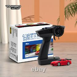 Turbo Racing 176 RC Sports Car C71 with 3 Colors Mini Full Proportional RTR Kit