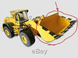 UNPAINTED Full Metal Loader bucket For 114 scale Hydraulic Loader NEW IN BOX