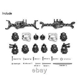 Upgraded Aluminum Full Front & Rear Axle Set for Traxxas TRX4 TRX-4 110 RC Car