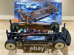 Xray T4 Sedan Touring Car with Full Electronics and Custom painted bodies