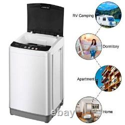 ZOKOP Full-Automatic Washing Machine Portable Compact Laundry Washer Spin