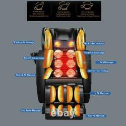 Zero Gravity Space Capsule Full Body Massage Chair Electric Reclining Heated